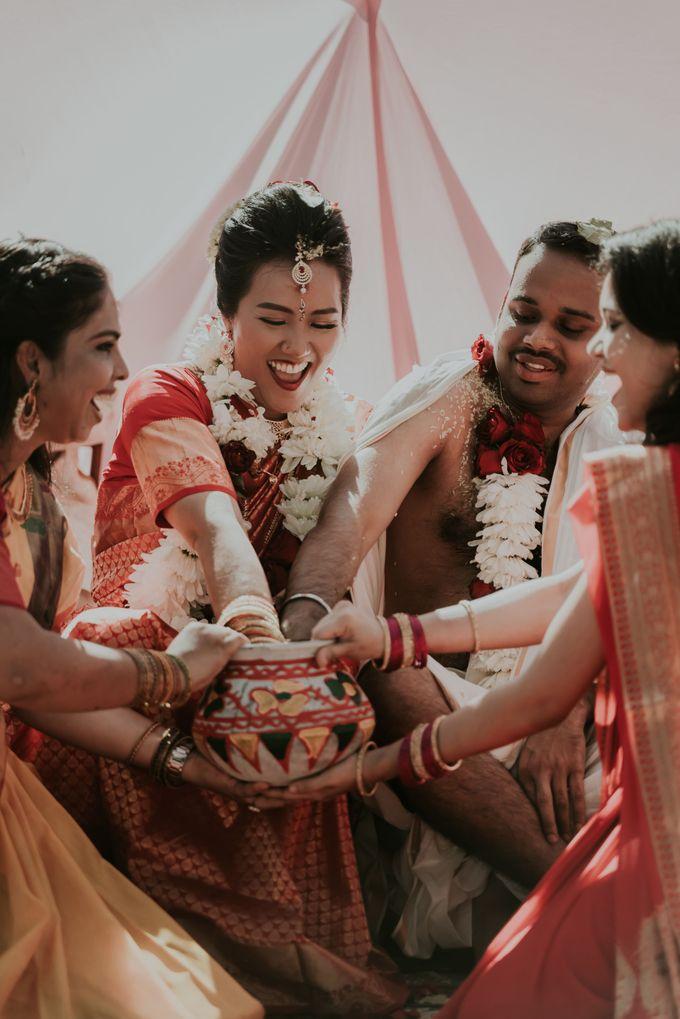 Vivi & Prasanth Wedding by Delapan Bali Event & Wedding - 043