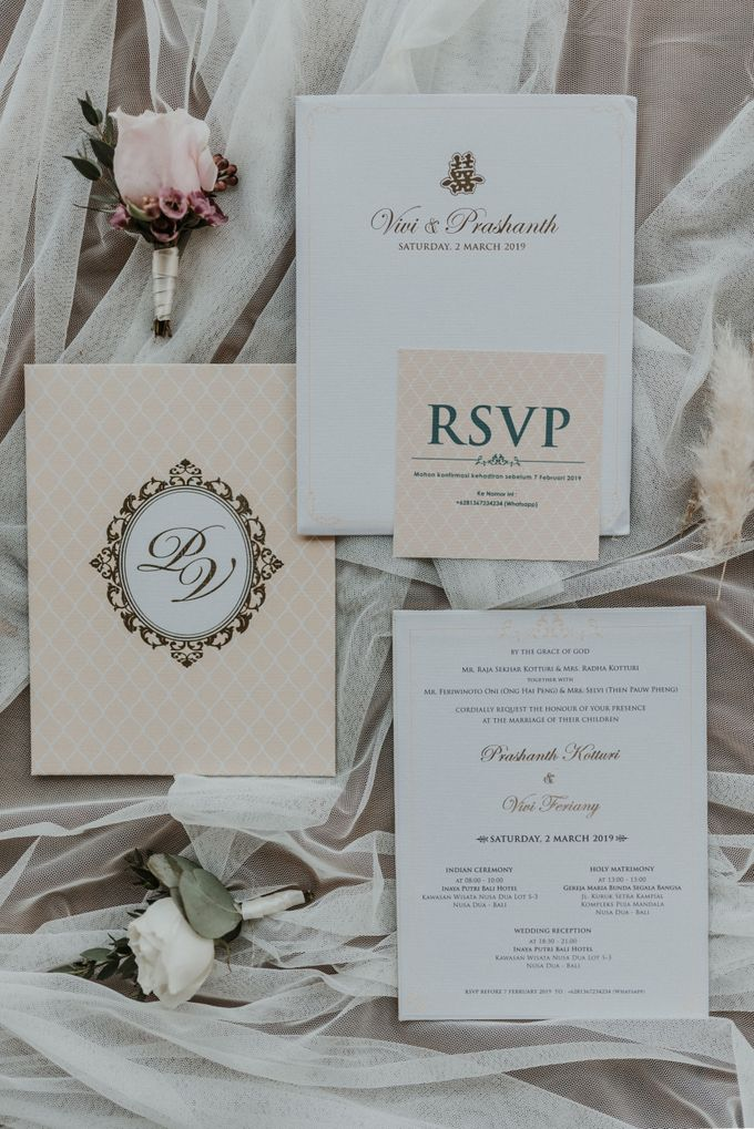 Vivi & Prasanth Wedding by Delapan Bali Event & Wedding - 045