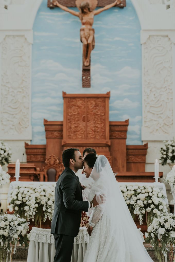 Vivi & Prasanth Wedding by Delapan Bali Event & Wedding - 005