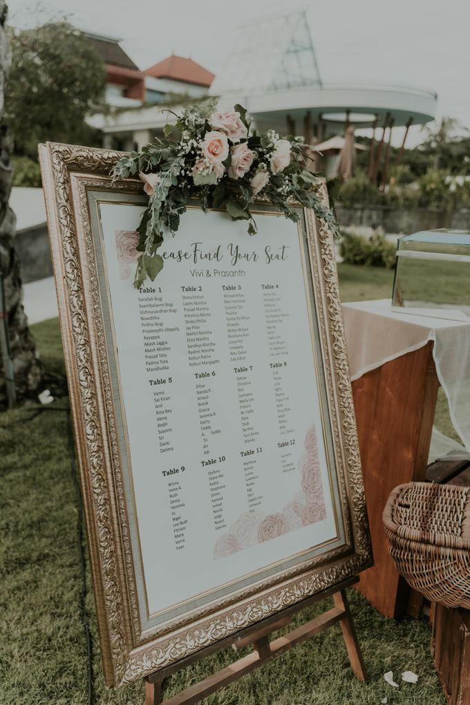 Vivi & Prasanth Wedding by Delapan Bali Event & Wedding - 017