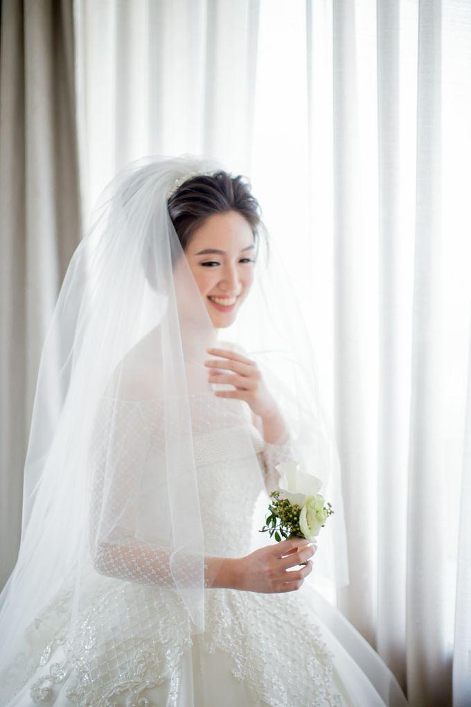 Grace Wedding. Natural & Korean Style Make Up by Marsia Yulia Signature. Natural and Korean Make Up Specialist. - 008