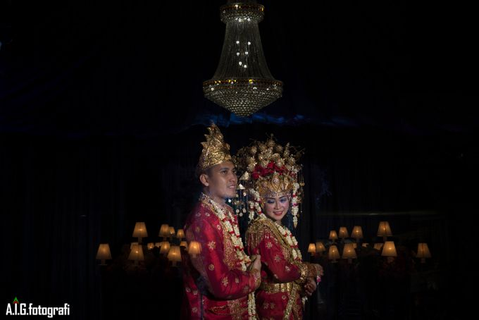 Wedding Moment Of Wiwit And Firli. by AIG FOTOGRAFI - 003