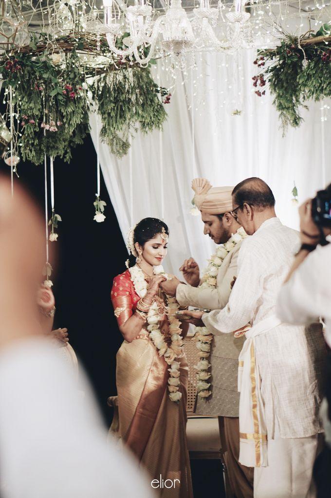 The Wedding Of Nishant & Vinutha by Elior Design - 020