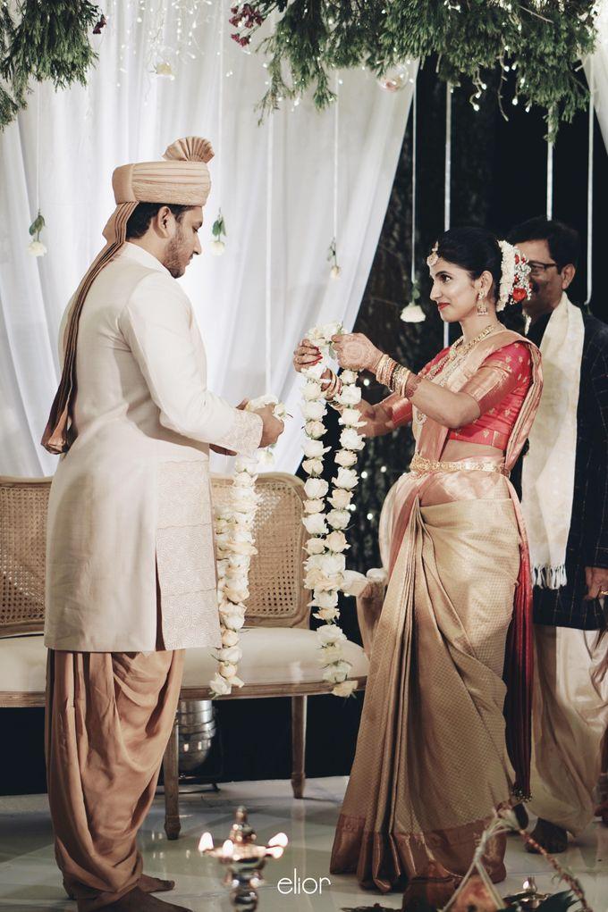 The Wedding Of Nishant & Vinutha by Elior Design - 022