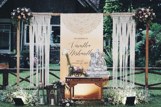 The Wedding Of Nishant & Vinutha by Elior Design - 026