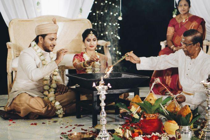 The Wedding Of Nishant & Vinutha by Elior Design - 016