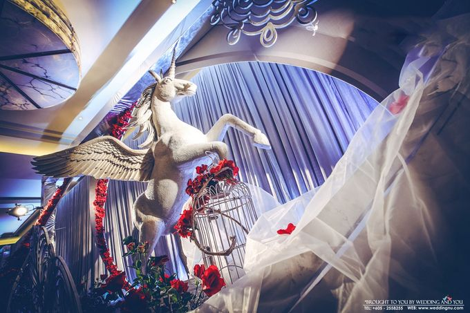Unique Themed Wedding Decoration by Wedding And You - 004