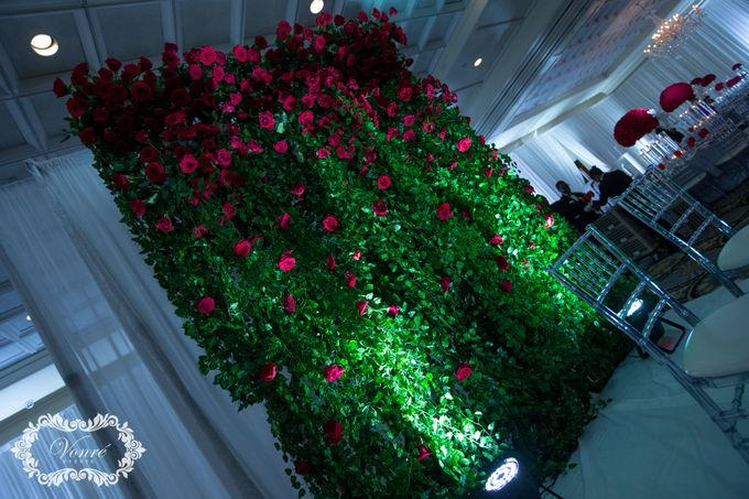 Red Rose Wedding by Vonre Events - 019
