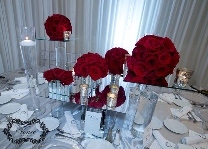 Red Rose Wedding by Vonre Events - 002