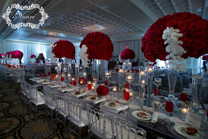 Red Rose Wedding by Vonre Events - 026
