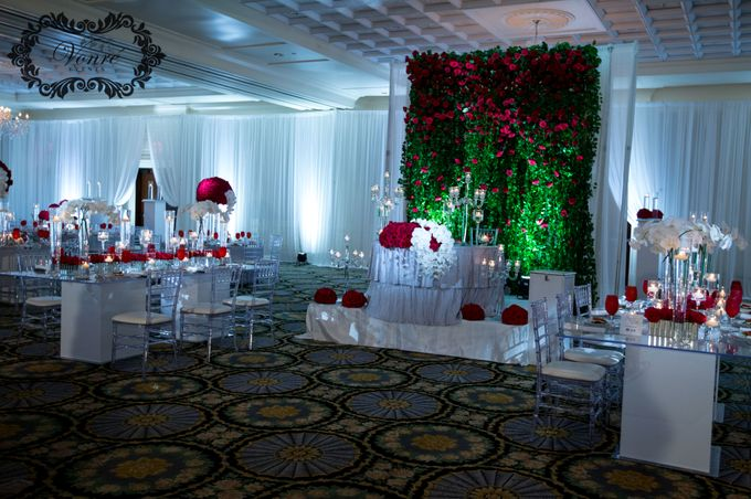 Red Rose Wedding by Vonre Events - 027