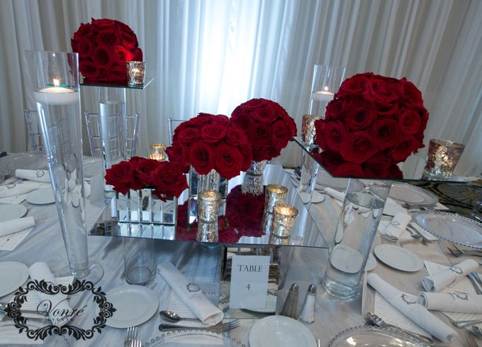 Red Rose Wedding by Vonre Events - 003