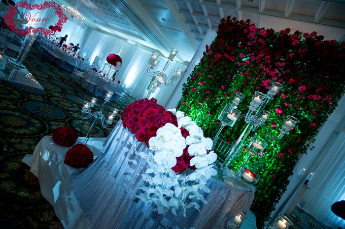 Red Rose Wedding by Vonre Events - 029