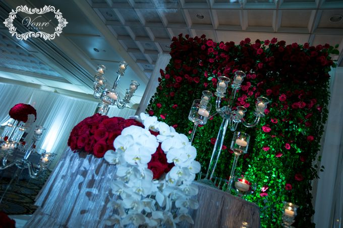 Red Rose Wedding by Vonre Events - 030