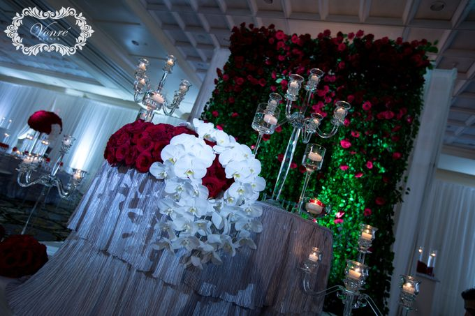 Red Rose Wedding by Vonre Events - 031