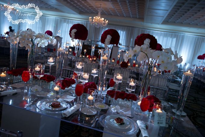 Red Rose Wedding by Vonre Events - 034
