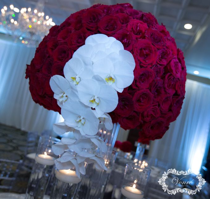 Red Rose Wedding by Vonre Events - 006