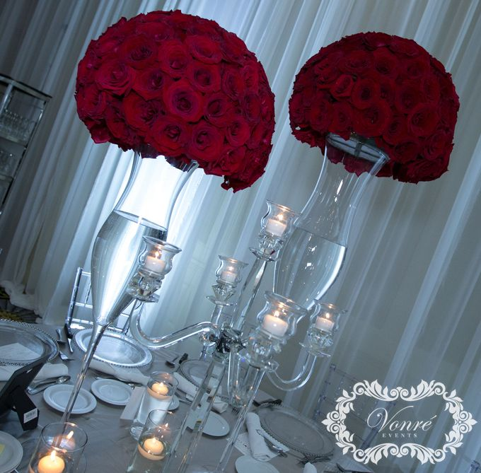 Red Rose Wedding by Vonre Events - 010