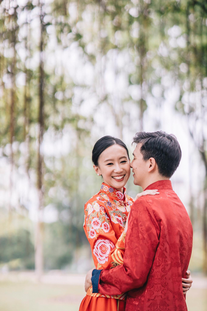 Chinese wedding Bride Christina by Vow bridal house - 004