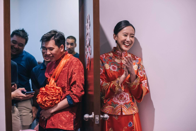 Chinese wedding Bride Christina by Vow bridal house - 005