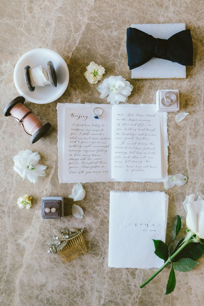 Styled Vow Renewal with a touch of Old World Romance by AF Atelier - 004