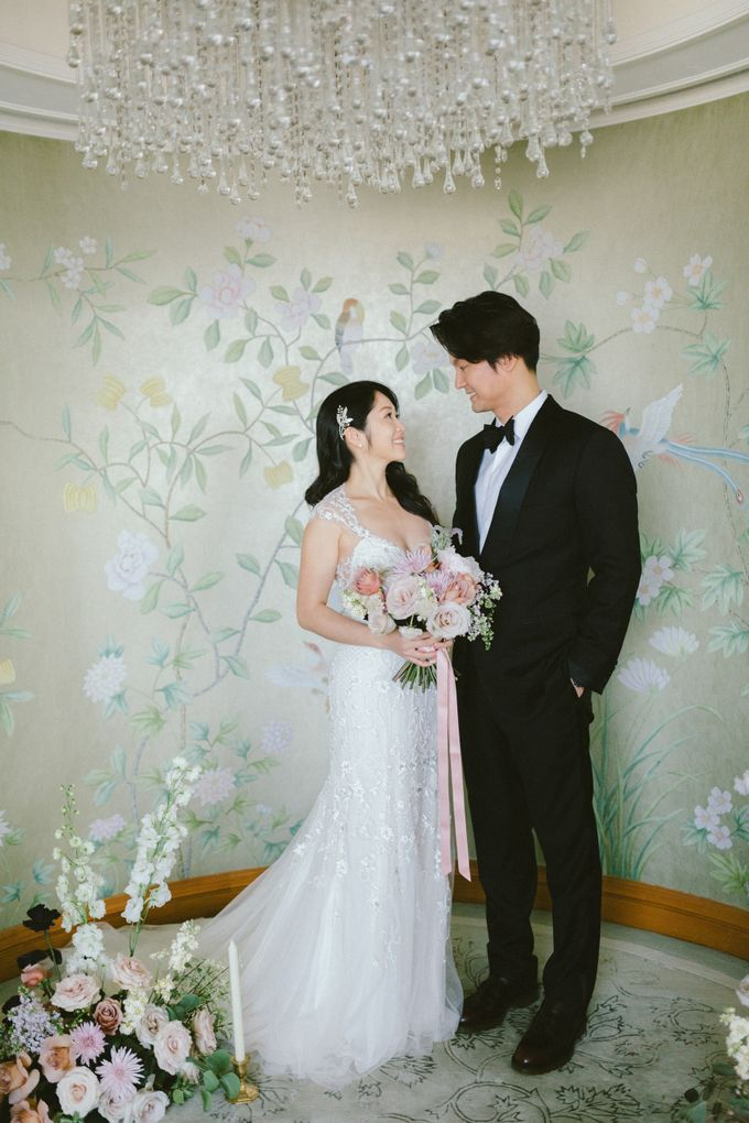 Styled Vow Renewal with a touch of Old World Romance by AF Atelier - 013