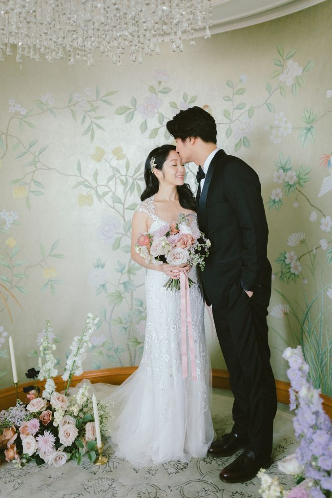Styled Vow Renewal with a touch of Old World Romance by AF Atelier - 016