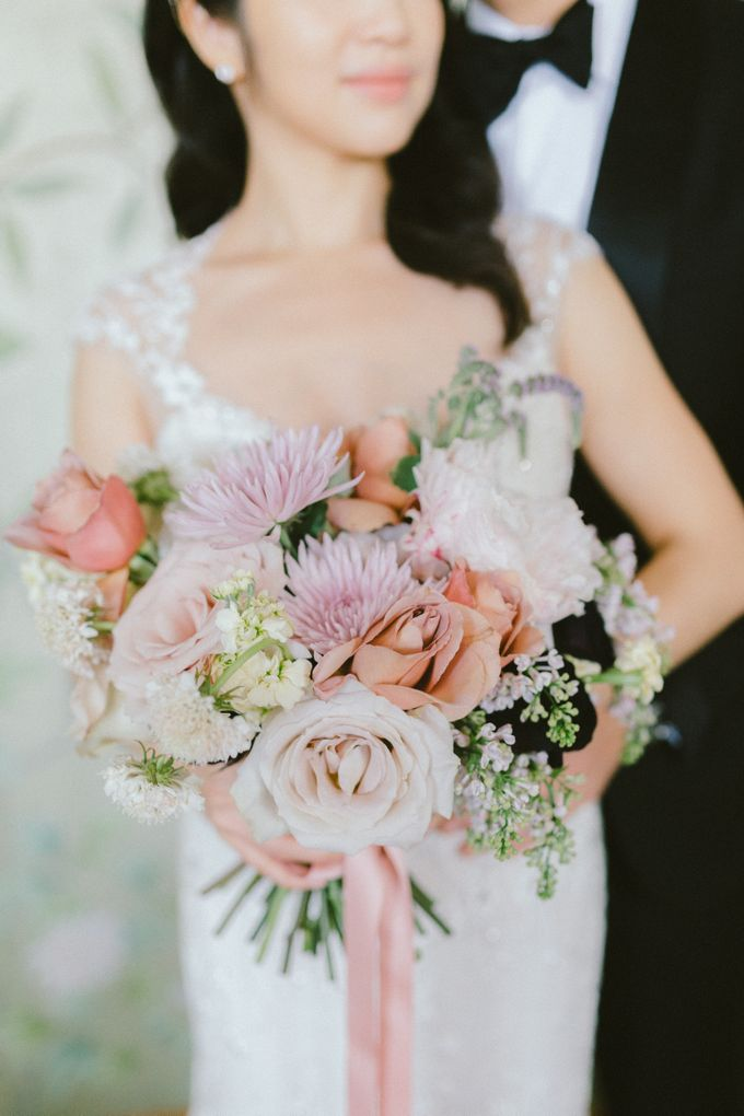 Styled Vow Renewal with a touch of Old World Romance by AF Atelier - 017