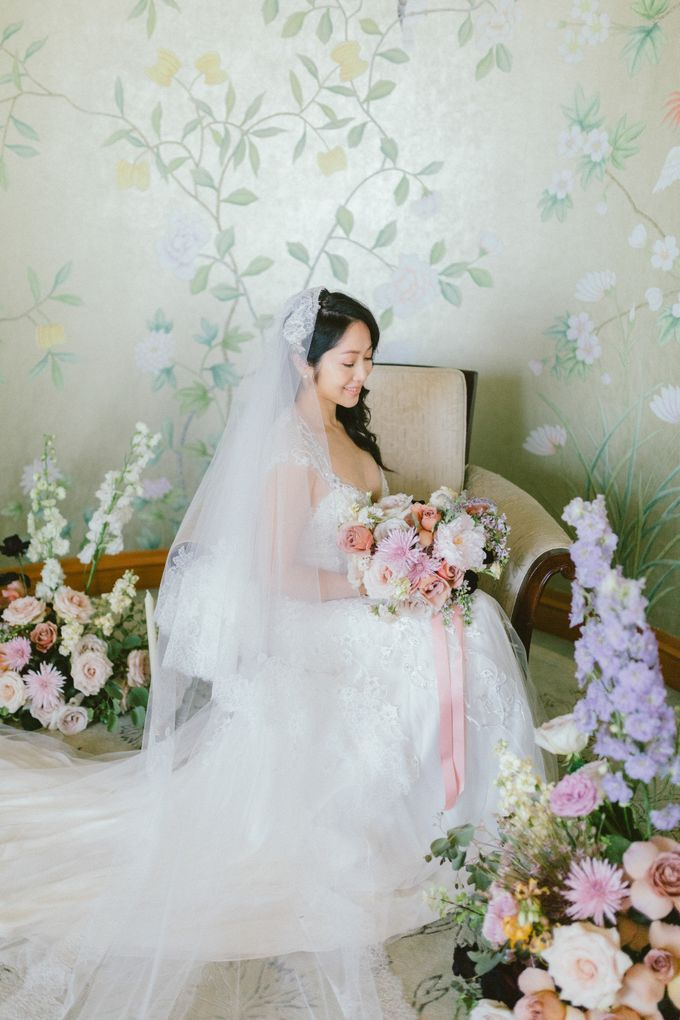 Styled Vow Renewal with a touch of Old World Romance by AF Atelier - 022