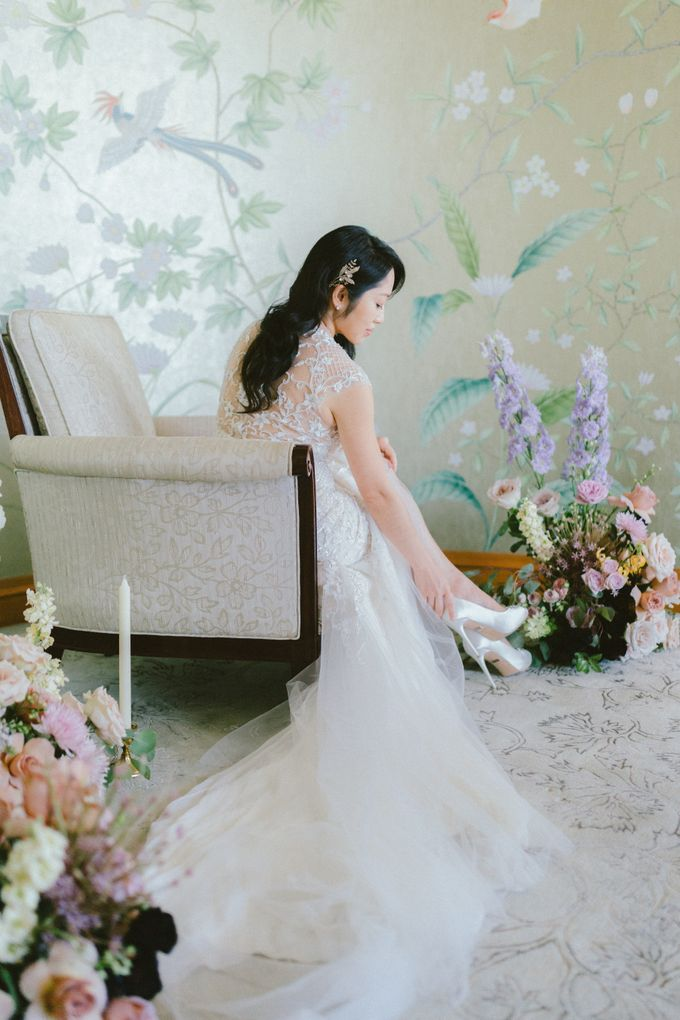 Styled Vow Renewal with a touch of Old World Romance by AF Atelier - 028