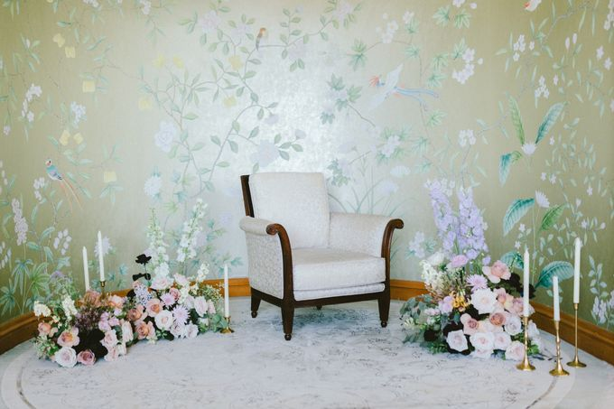 Styled Vow Renewal with a touch of Old World Romance by AF Atelier - 029