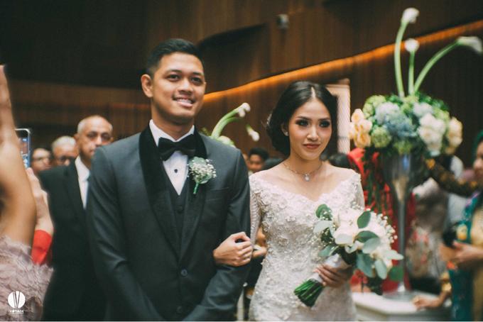 The wedding of Ghinar Panigoro & Amelia Raissa by Voyage Entertainment - 001