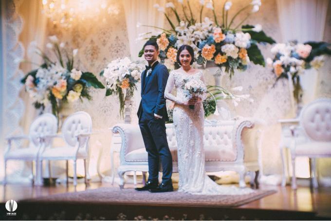 The wedding of Ghinar Panigoro & Amelia Raissa by Voyage Entertainment - 002