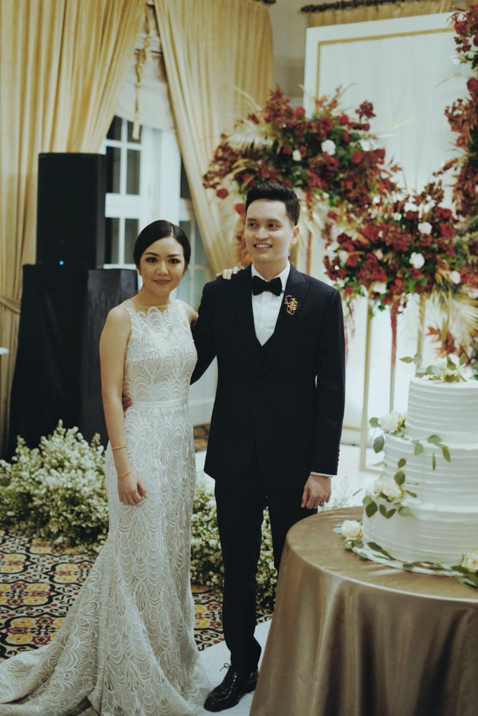 The wedding of Gio & Jashinta by Wong Hang Distinguished Tailor - 003