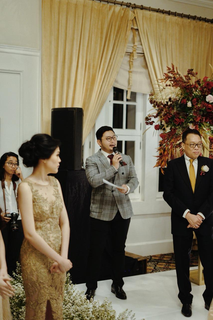 The wedding of Gio & Jashinta by Wong Hang Distinguished Tailor - 013