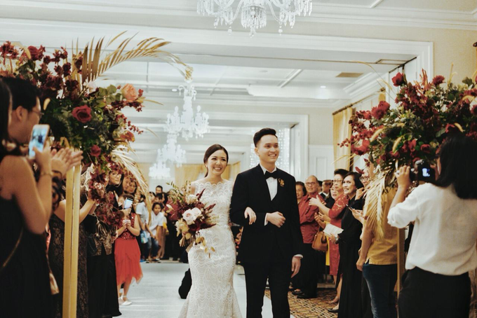 The wedding of Gio & Jashinta by Wong Hang Distinguished Tailor - 012