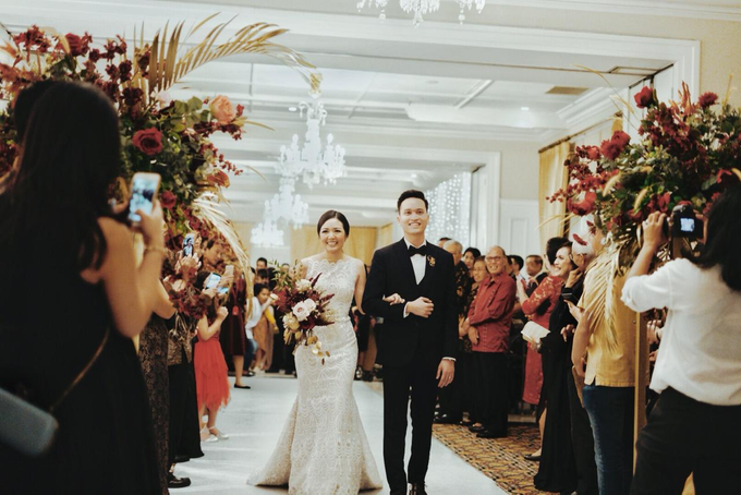 The wedding of Gio & Jashinta by Wong Hang Distinguished Tailor - 015