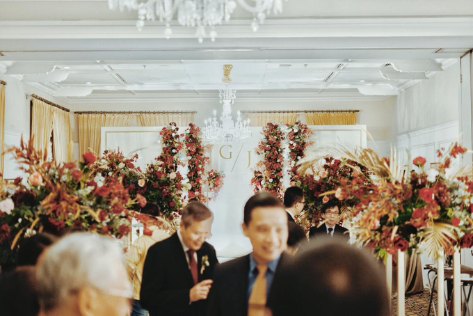 The wedding of Gio & Jashinta by Wong Hang Distinguished Tailor - 022