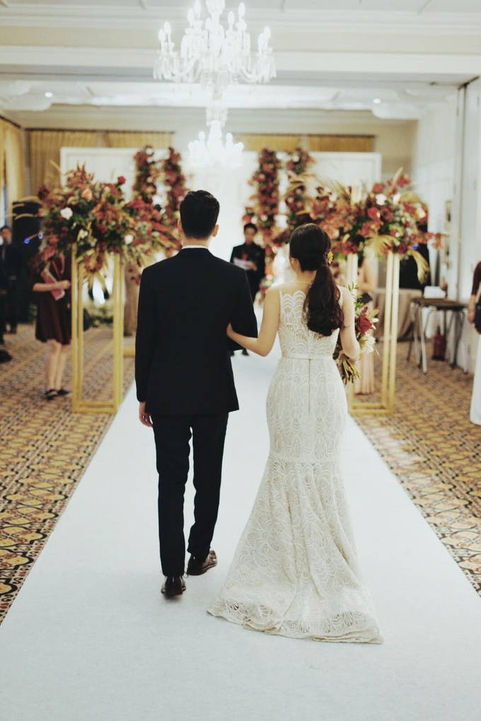 The wedding of Gio & Jashinta by Wong Hang Distinguished Tailor - 031