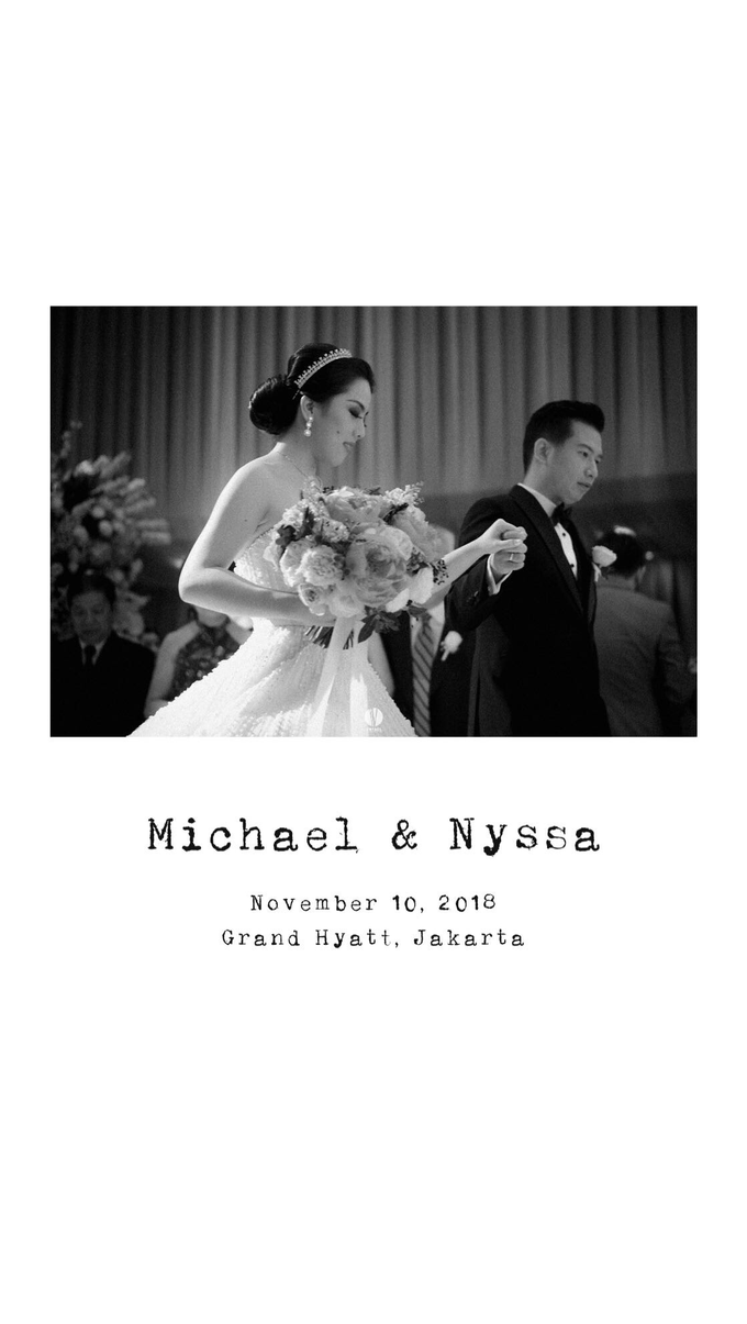The wedding of Michael & Nyssa by PRIVATE WEDDING ORGANIZER - 001