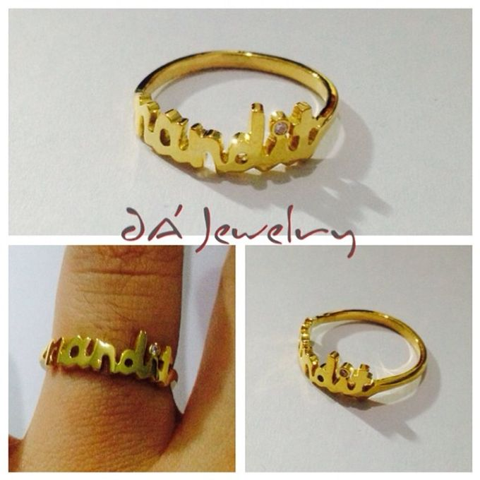 Name & Initial by DA Jewelry - 049