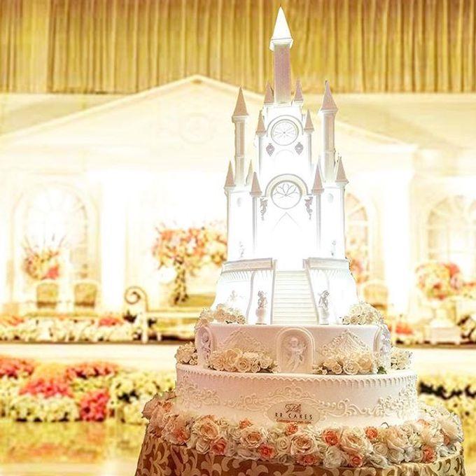 Wedding Cake & Dessert Table Cake Jan-june 2017 by RR CAKES ...