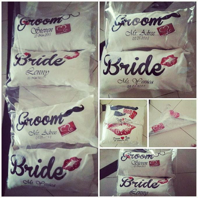 Wedding Pillow by Sweetlovecollection - 033