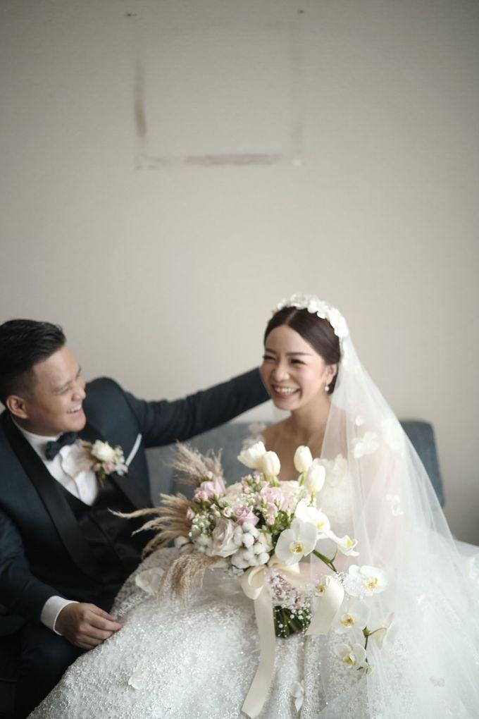 Adit & Claresta Wedding at Hilton by PRIDE Organizer - 016