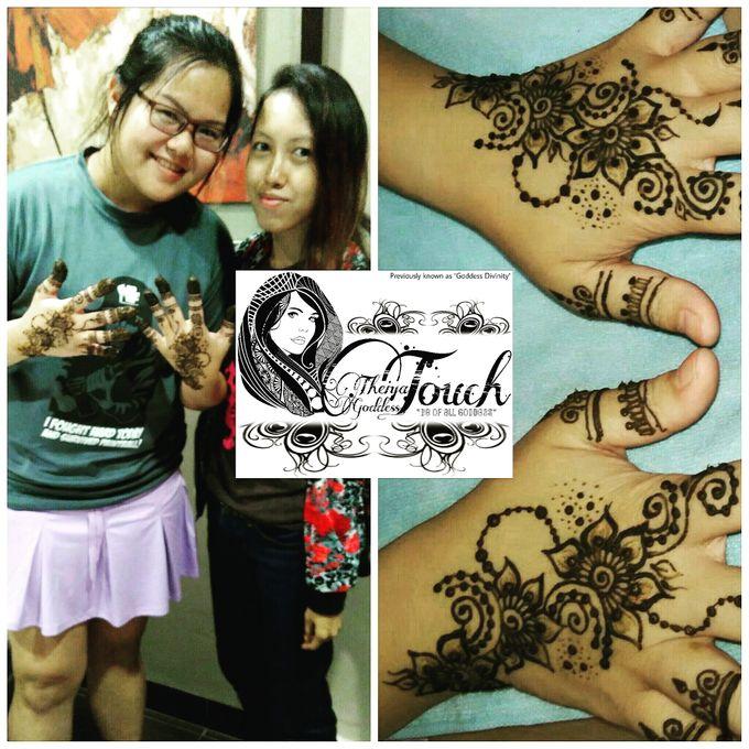 Henna Artwork Designing by Theiya Goddess Touch - 017