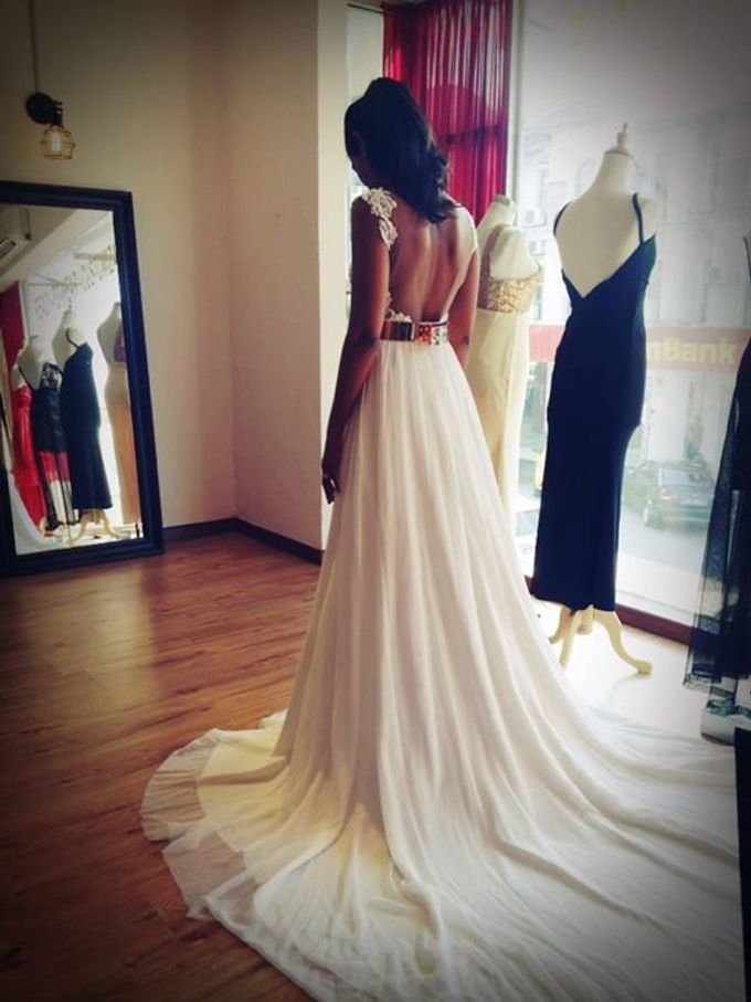 Real Brides And Weddings In Bespoke Emcee Couture by Emcee Couture - 004