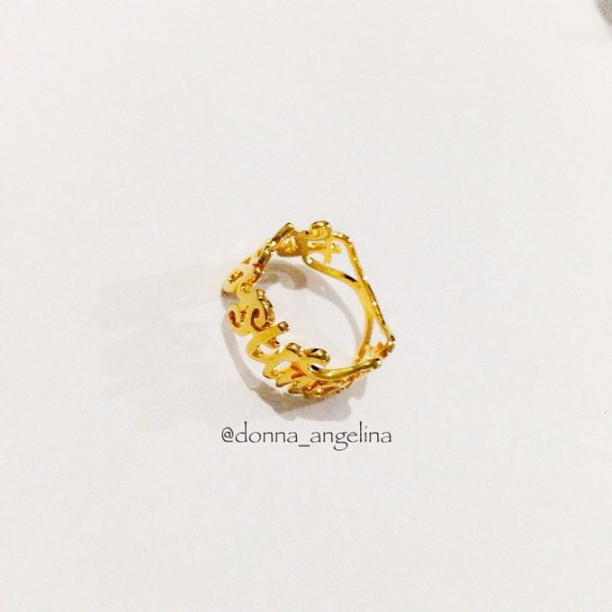 Name & Initial by DA Jewelry - 017