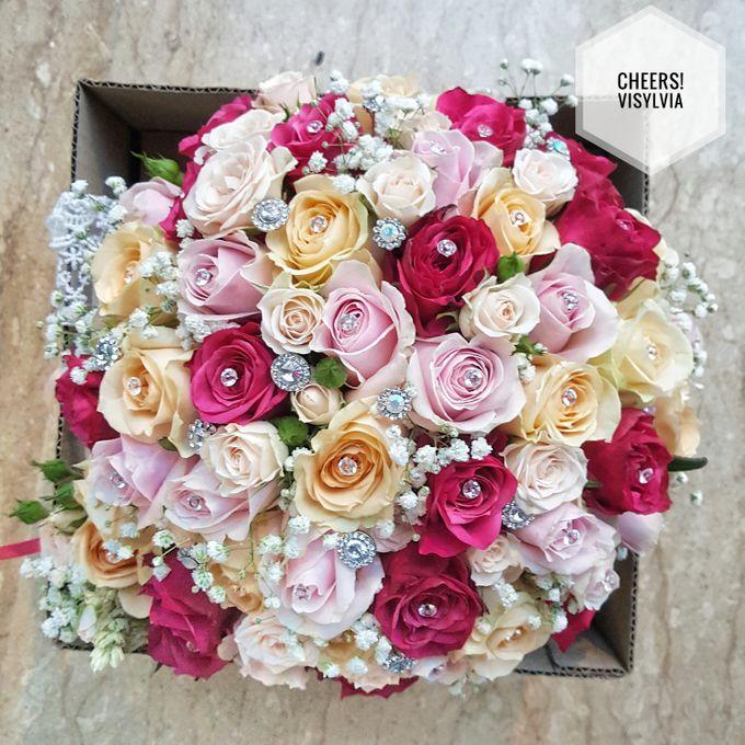 WEDDING BOUQUET  by visylviaflorist - 005