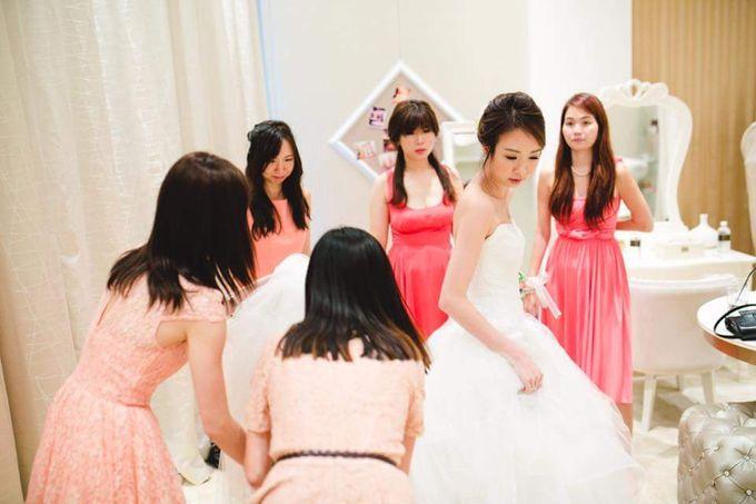 Actual Day Prissie♥Zhengyu by Gin Tan makeup artist - 001