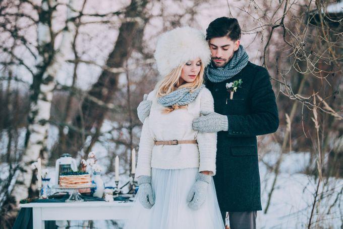 Wedding In Gzhel Style by Marina Nazarova Photographer - 033
